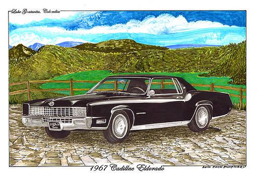 Jack Pumphrey - 1967 Cadillac Eldorado at Lake Guatavita