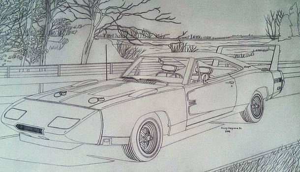 1969 Dodge Daytona Charger by Henry Hargrove