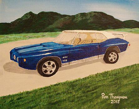 1970 455 Gto by Ron Thompson