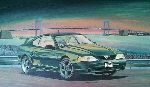 1995 Ford Mustang Cobra SVT by Henry Hargrove