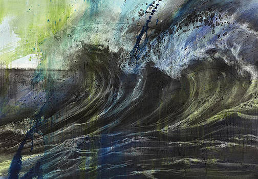 1st Place SeaScapes Art Exhibition - Take It All  by Judith Brandon