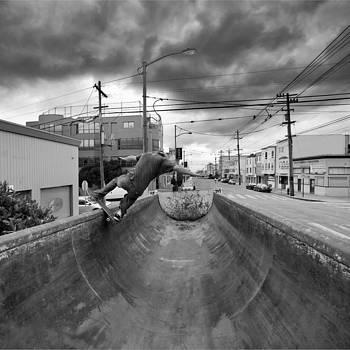 Daniel Furon - Dump Truck Skateboarding in Balboa Street - K