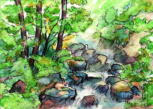 Ac300 Forest Stream by Kirohan Art