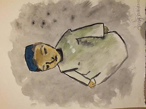 Afghan Village Boy  by Tracy  Pierce
