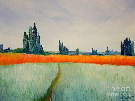 After Monet by Bill OConnor