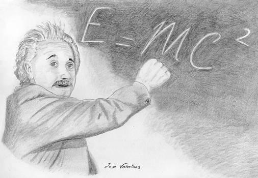 Albert Einstein by Jose Valeriano