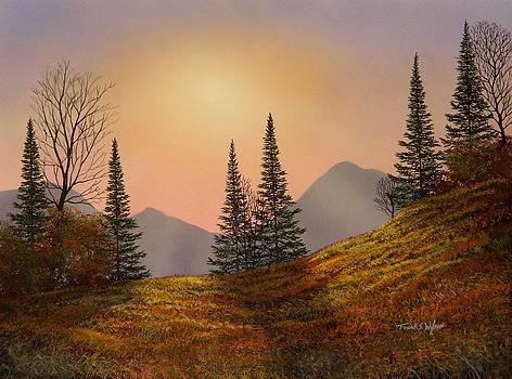 Frank Wilson - Alpine Sunset