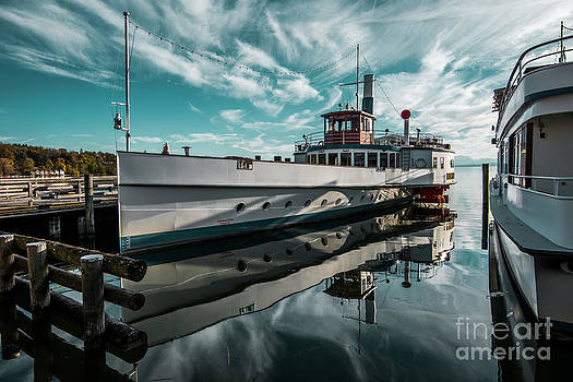 Ammersee fleet by Hannes Cmarits