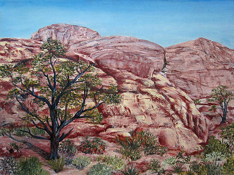 Among the Red Rocks by Roseann Gilmore