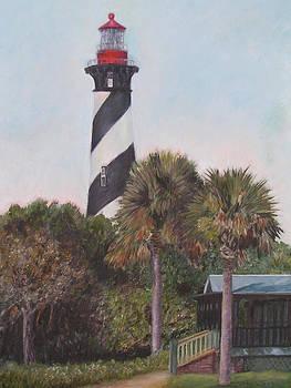 Anastasia Lighthouse by Patty Weeks