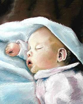Angel Sleeping by Lenore Gaudet