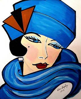 Art Deco  Jane by Nora Shepley