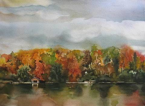 Alfred Ng - autumn lake