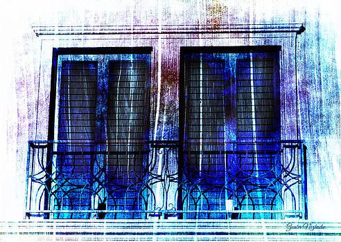 Gunter Nezhoda - Balcony Window