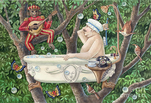 Bath Tub Serenade by Ann Gates Fiser