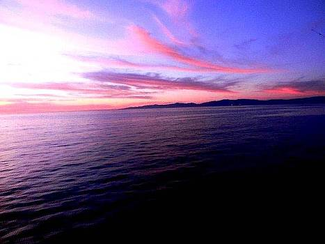Beach Sunset by Brandon Garcia