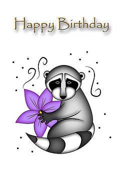 Jeanette K - Birthday Raccoon
