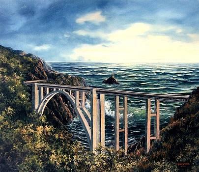 Bixby Creek Bridge by Lynne Wright