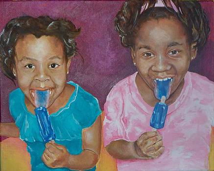 Blue Tongued Cousins 2010 by Reuben Cheatem