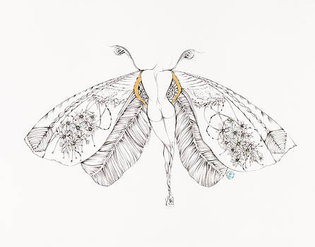 Botanicalia Antoinette  by Karen Robey