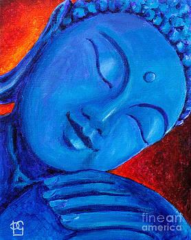 Buddha in Blue by Peta Garnaut