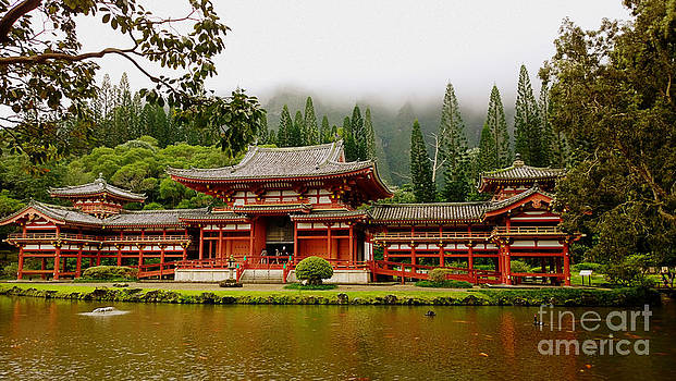 Cheryl Young - Byodo In Temple