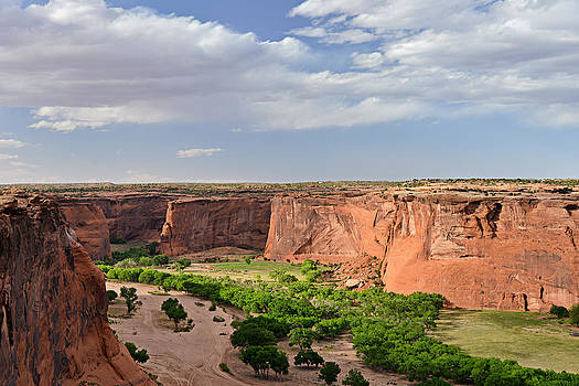 Christine Till - Canyon de Chelly from Sliding House Overlook