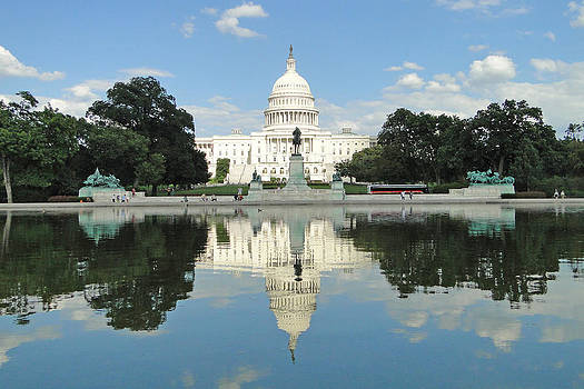 Capitol Reflection by Barrie Woodward