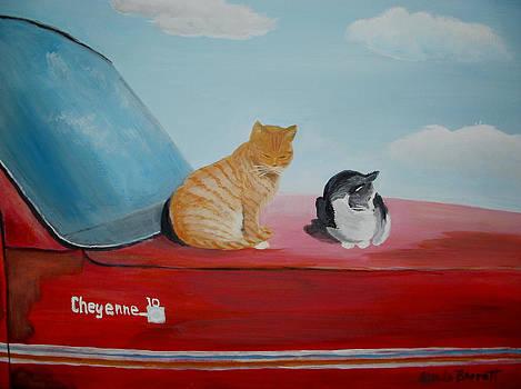 Cat Nap by Glenda Barrett