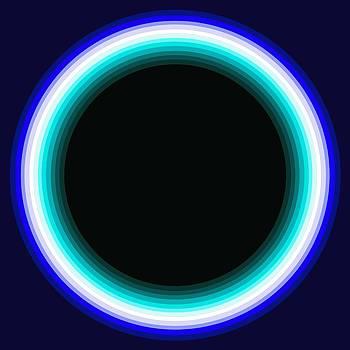 Circle Motif 131 by John F Metcalf
