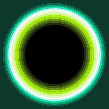 Circle Motif 133 by John F Metcalf