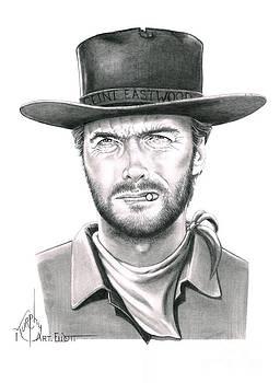 Clint Eastwood by Murphy Elliott