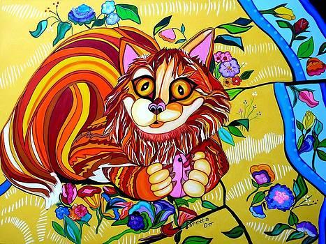 Clyde-Cat by Loretta Orr