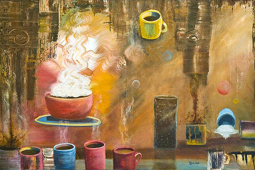 Coffee Party by Trish Bilich