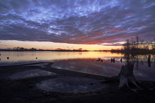 Dakota sunset by Dustin Miller