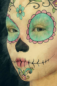 Liam Liberty - Day of The Dead - Sugar Skull Portrait