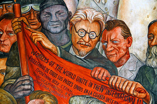 Diego Rivera Mural Mexico City by Jim McCullaugh