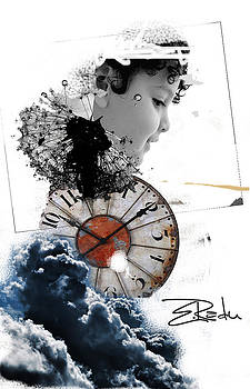 Digital Art - Er INK  by Enache  Radu