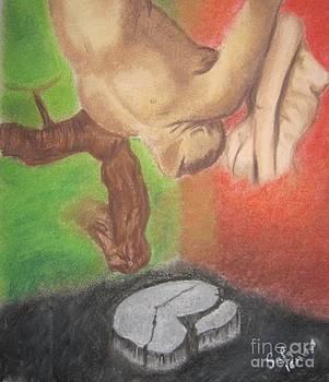 Falling into a dream by Safa Al-Rubaye