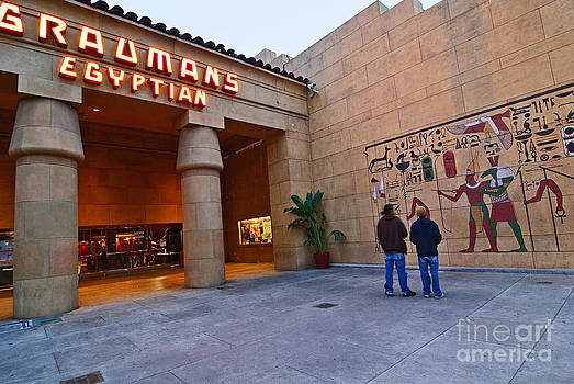 Jamie Pham - Famous Egyptian Theater in Hollywood California.