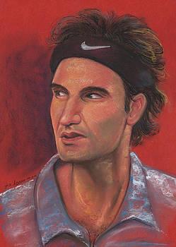 Federer by Prakash Leuva