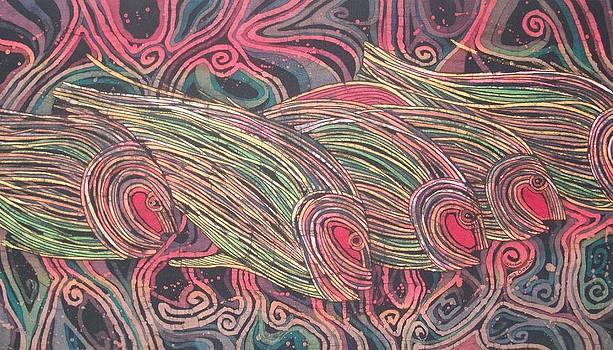 Fish Journeys 2 by Lukandwa Dominic
