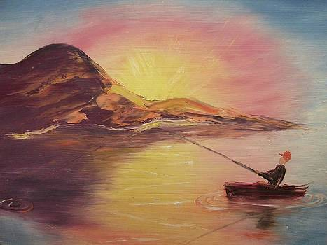 Suzanne  Marie Leclair - Fishing
