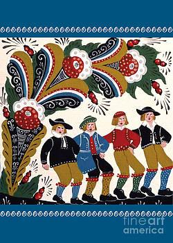 Leif Sodergren - Four Men Dancing