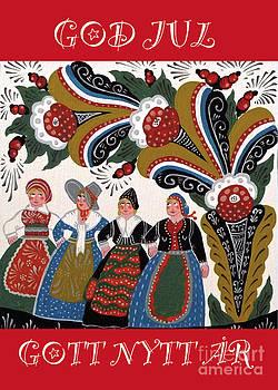 Leif Sodergren - Four Women Dancing