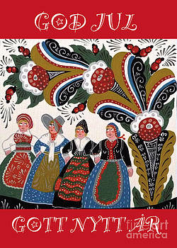 Four Women Dancing by Leif Sodergren
