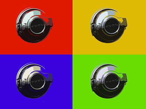 Fuel Cap in Bold Color by Sarah Egan