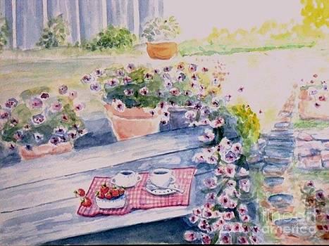 Garden Morning by Craig Calabrese