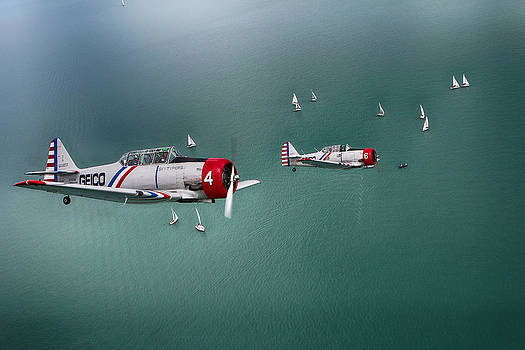 GEICO Skytypers by Jerome Lynch