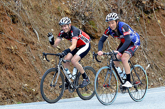 Gran Fondo Bike Ride by Susan Leggett